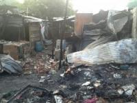 Fuego arrasó con 4 viviendas en el oriente de Cali
